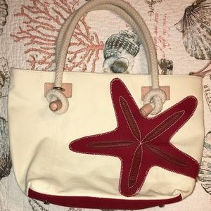 Starfish shoulder/tote bag